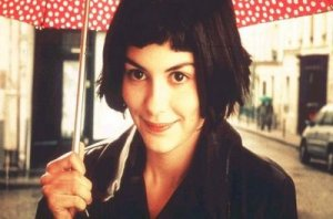 Audrey Tautou as Amelie Poulain in Amelie