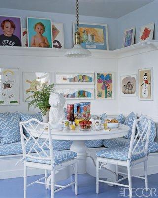 Aerin Lauder's East Hampton Breakfast Nook