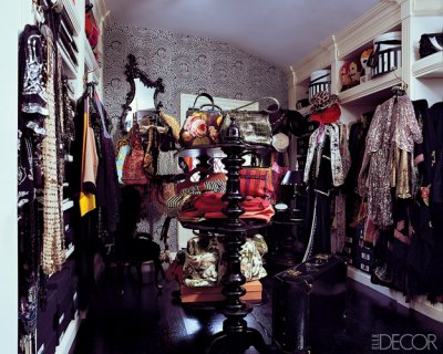 Anna Sui's Walk-In Closet