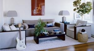 John Mayer's Living Room