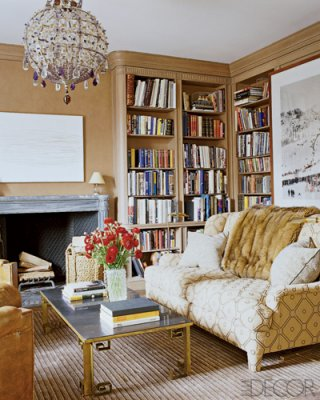 Aerin Lauder's East Hampton Library