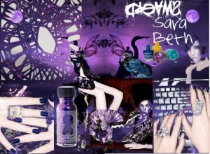 Mood Board For Sara Beth's Purple Dreams by The Beautiful Russian