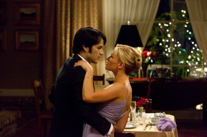 Stephen Moyer as Bill Compton and Anna Paquin as Sookie Stackhouse in True Blood