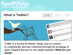 Twitter: The new face of social networking
