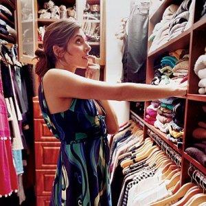 Jamie-Lynn Sigler's Walk-In Closet