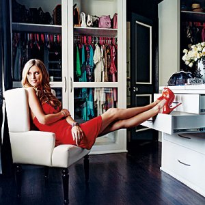 Nicky Hilton's Walk-In Closet